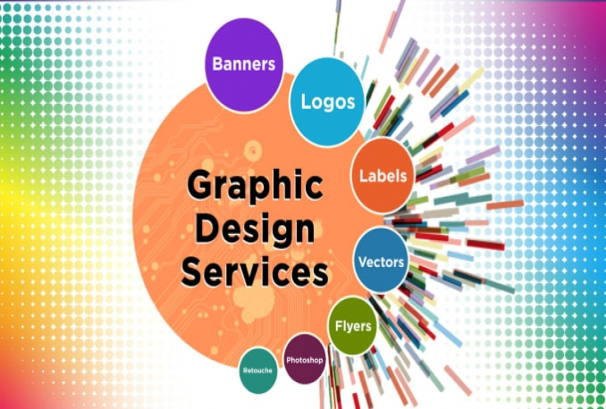 do graphic design related, Photoshop images, redesign vector artwork