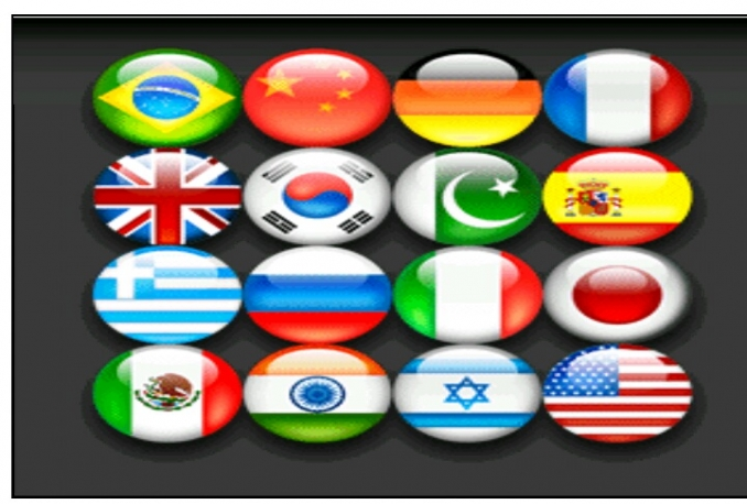 Write and translate English to any major language of the world with you