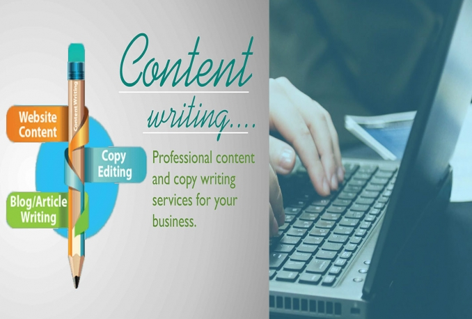 Give you web Content and Articles