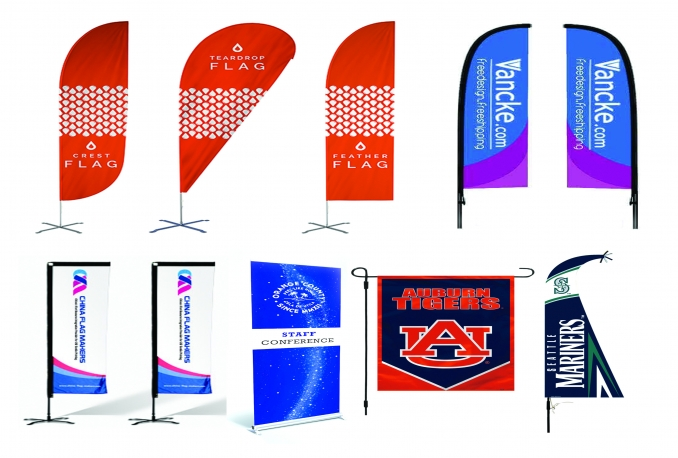 I Will Design Tear Drop Flag, Feather Flag, Wind Beach Flag