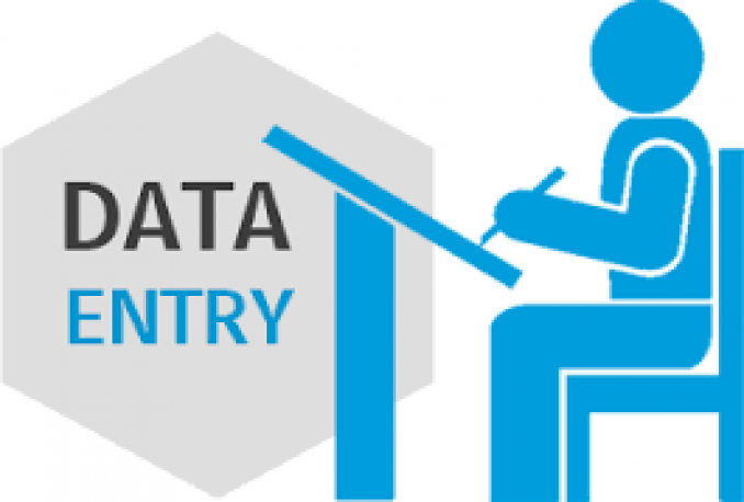 do every type of data entry job
