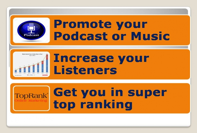 promote your podcast on iTunes store top ranking