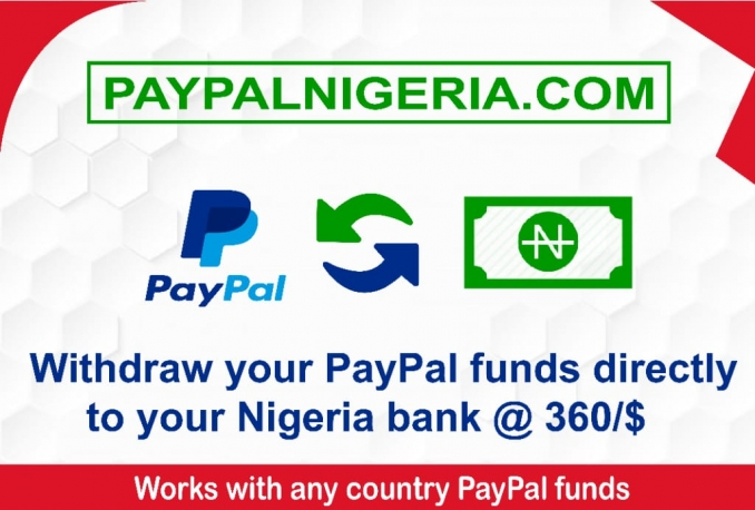 Show you how to Withdraw From Your Paypal account directly to Nigeria Bank at the rate of 360/$