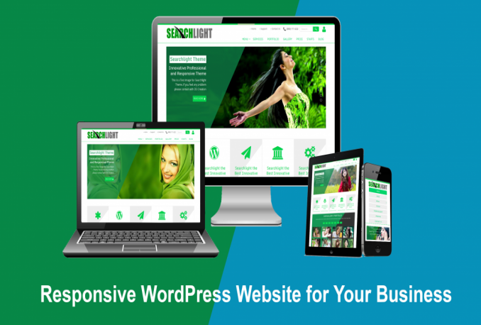 I will wordpress website for u