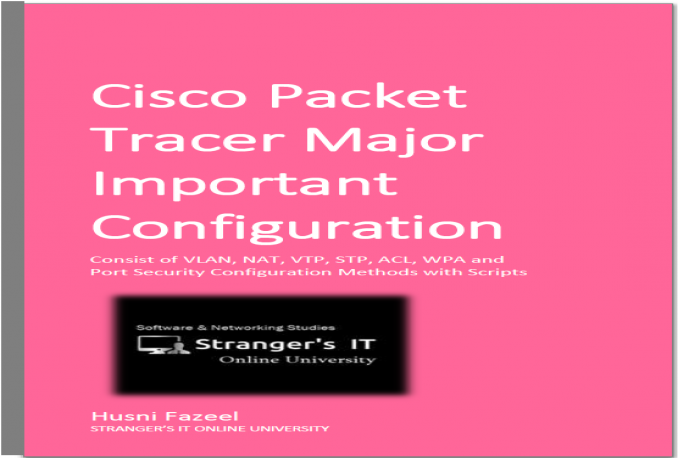 give Cisco Packet Tracer Important Practicals Ebook