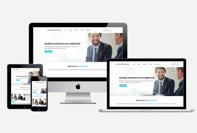 do web design and build a website or landing page
