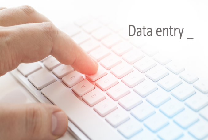 do data entry typing work in excel spreadsheet