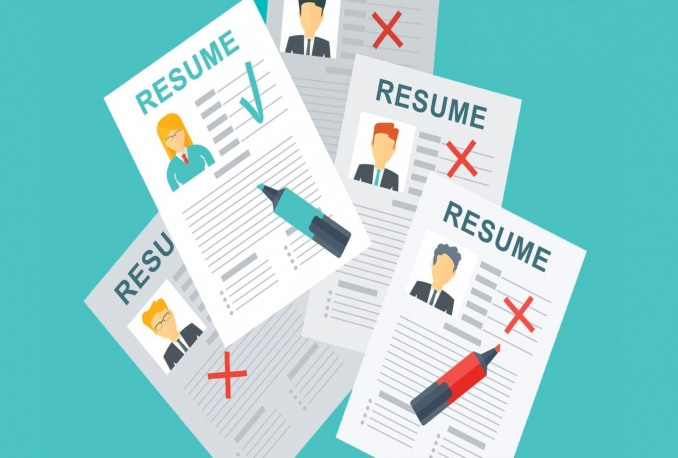 review, edit, and write your resume as an amazon hiring manager