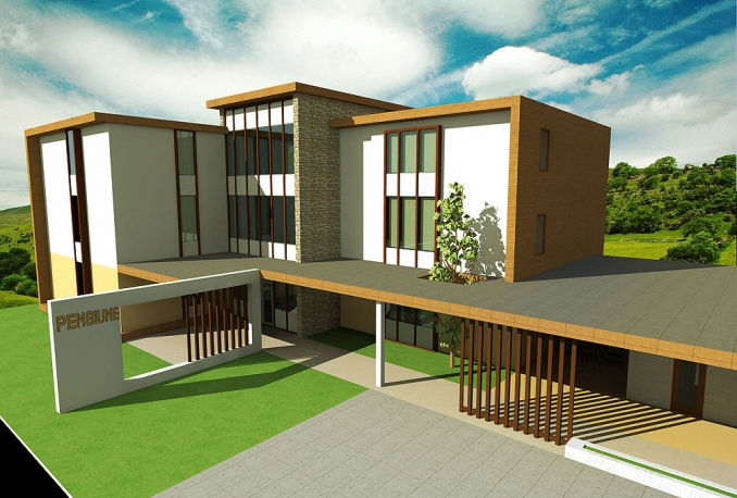 do Architectural design of your building (bungalow, storey building, duplex) within 1 week