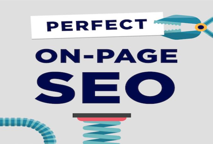 do onpage SEO of your wordpress website