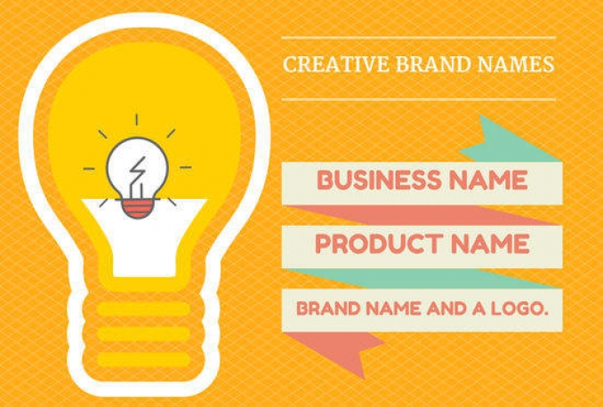 create 15 business name, brand name, company name or slogans