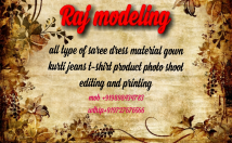 I have modeling agency i m making all type of product photography and catlouge shoot video adds