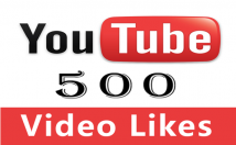 Give You 500 Youtube Video Likes High Quality Lifetime Guarantee