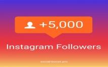 provide you 5000 Instagram followers
