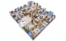 Create Axonometric View Of Your Floor Plan