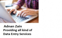 do all Kind of Data Entry ,Copy Paste Jobs , Data Cleansing Jobs, PDF to Word Excel, Data Base Operations , Data Feeding, Data Mining ,Web Searching & Posting in to Word Excel