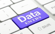 do Data entry and data management
