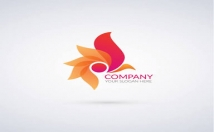 Create logo and English typing from