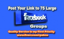 Post Your Link 75 Facebook Groups