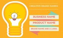 create 15 business name, brand name, company name or slogans